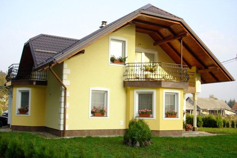 Fasade Vezjak družinska hiša